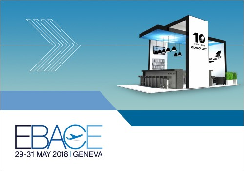 COME CELEBRATE WITH US AT EBACE 2018