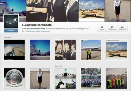 #eurojetintercontinental Launches an Instagram Page