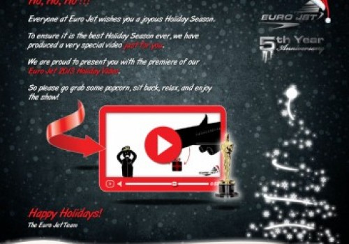 HAPPY HOLIDAYS FROM EURO JET