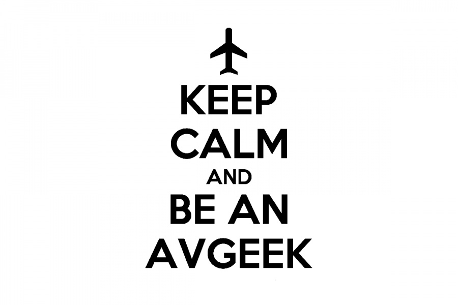 Keep calm if you are aviation geek.