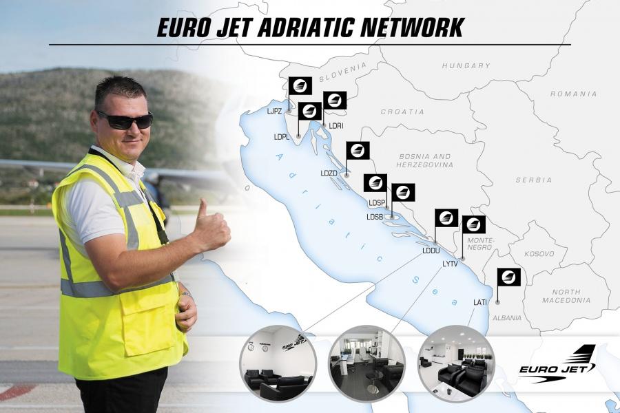 Euro Jet Adriatic Ground Support Network